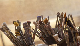 Tools of Creativity Royalty Free Stock Photos