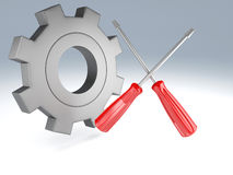 Tools 3d Stock Photography
