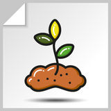 Tools_7 de jardinagem Imagens de Stock Royalty Free