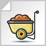 Tools_4 de jardinagem Fotografia de Stock Royalty Free