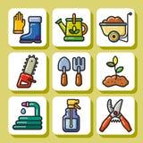 Tools_1 de jardinagem Imagens de Stock