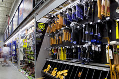 Tools Department Royalty Free Stock Image