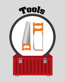 Tools design. Tools digital design, vector illustration 10 eps graphic Stock Photography