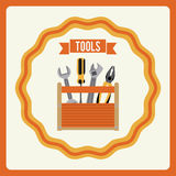 Tools design Stock Image