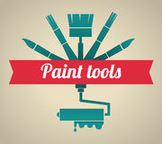 Tools design Royalty Free Stock Image