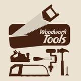 Tools design. Over beige background, vector illustration Stock Photo