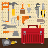 Tools design. Stock Image