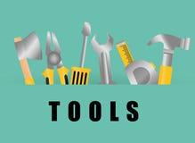 Tools design. Stock Images