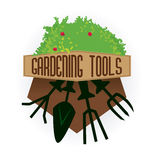 Tools design. Over white background, vector illustration Stock Photo