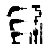 Tools design. Over white background, vector illustration Stock Image