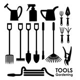 Tools design. Over white background, vector illustration Royalty Free Stock Photo