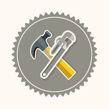 Tools design Stock Photography