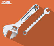 Tools design, vector illustration. Stock Photography