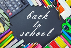 Tools for education to the school board Stock Image