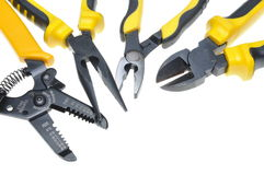 Tools for electrical installation Stock Photography