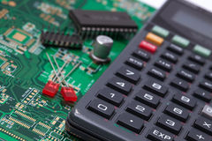 Tools of Electronic Engineering Royalty Free Stock Images