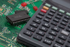 Tools of Electronic Engineering Stock Image