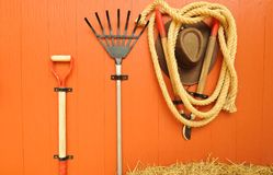 Tools for farming Royalty Free Stock Photography