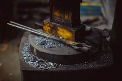 Tools in the forge Royalty Free Stock Images