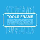 Tools frame Royalty Free Stock Photos