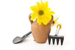 Tools for the garden Stock Photography
