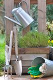 Tools and garden accessories Stock Photos