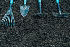 Tools for gardening Royalty Free Stock Images