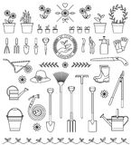 Tools for gardening Stock Images