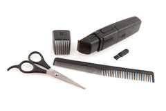 Tools for the hair dresser Royalty Free Stock Photography