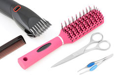 Tools for hair. Stock Photography