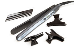 Tools for Hair Straightening Royalty Free Stock Photography