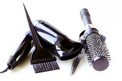 Tools for hairdresser Royalty Free Stock Images