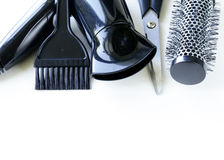 Tools for hairdresser Royalty Free Stock Photo