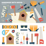 Tools for handmade things Stock Images