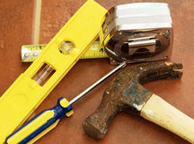 Tools For Home Improvement Royalty Free Stock Photography