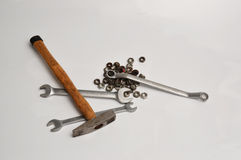 Tools. For home work and work Royalty Free Stock Photo