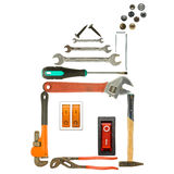 Tools House Royalty Free Stock Images