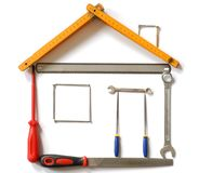 Tools House Royalty Free Stock Photos