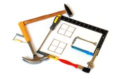 Tools House Royalty Free Stock Image