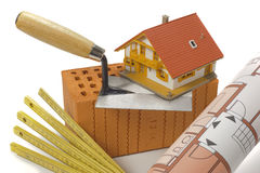 Tools for house building Royalty Free Stock Photo