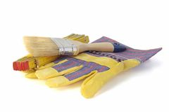 Tools of a house painter Stock Image