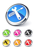 Tools icon stock illustration