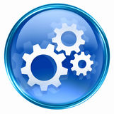 Tools icon blue Royalty Free Stock Photo