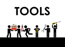 Tools icon Stock Photography