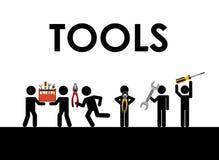 Tools icon Stock Photography