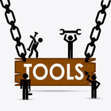 Tools icon. Design, vector illustration eps10 graphic Stock Images