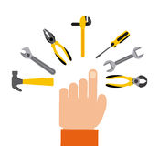 Tools icon Stock Image