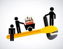 Tools icon. Design, vector illustration eps10 graphic Stock Image