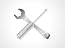 Tools icon  on white background Royalty Free Stock Photography