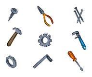 Tools Icons Royalty Free Stock Photo